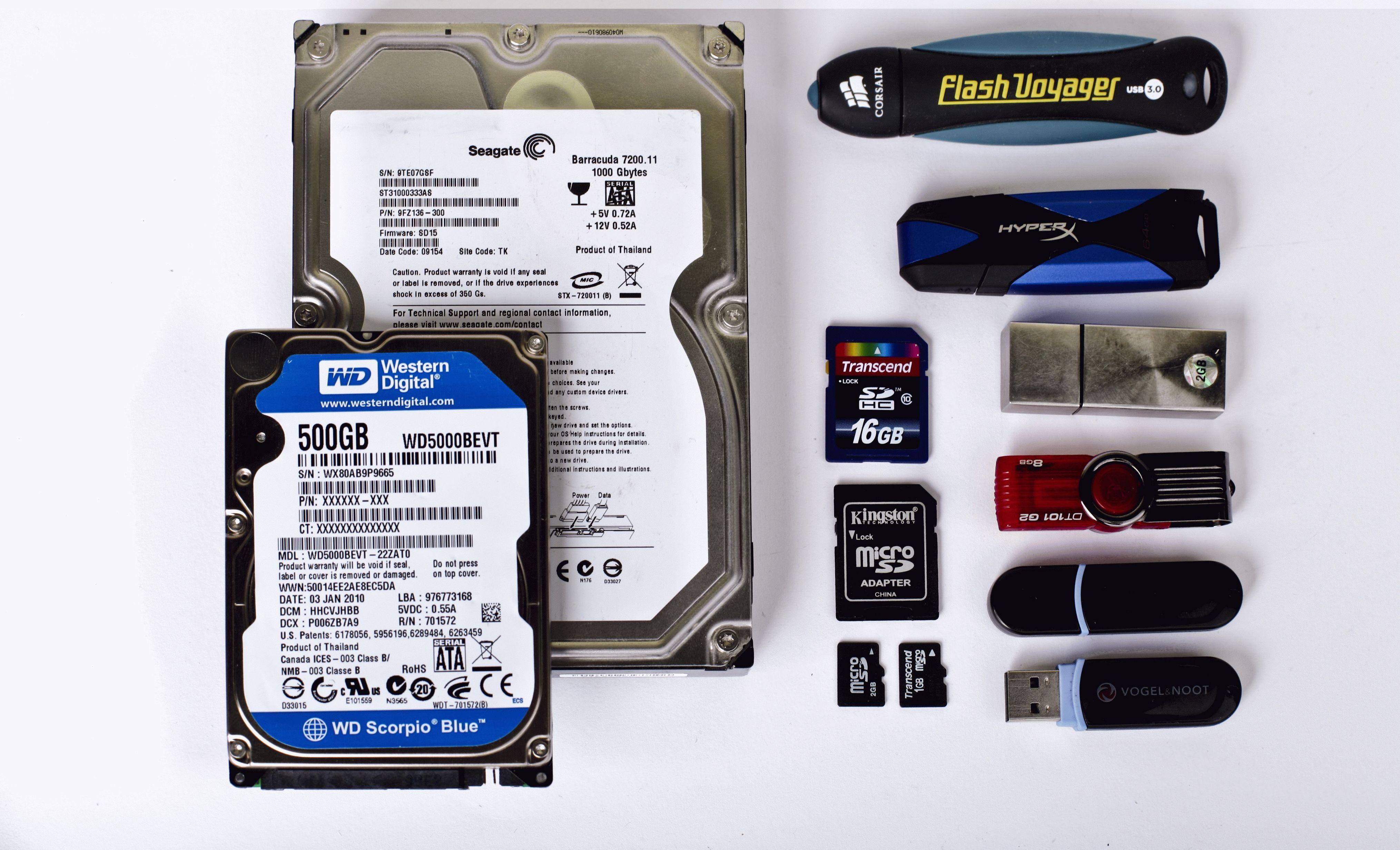 Что лучше флешка или внешний жесткий диск? Как выбрать?