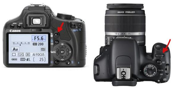 Как настроить диафрагму в ручном и AV-режиме на Canon, Nikon?