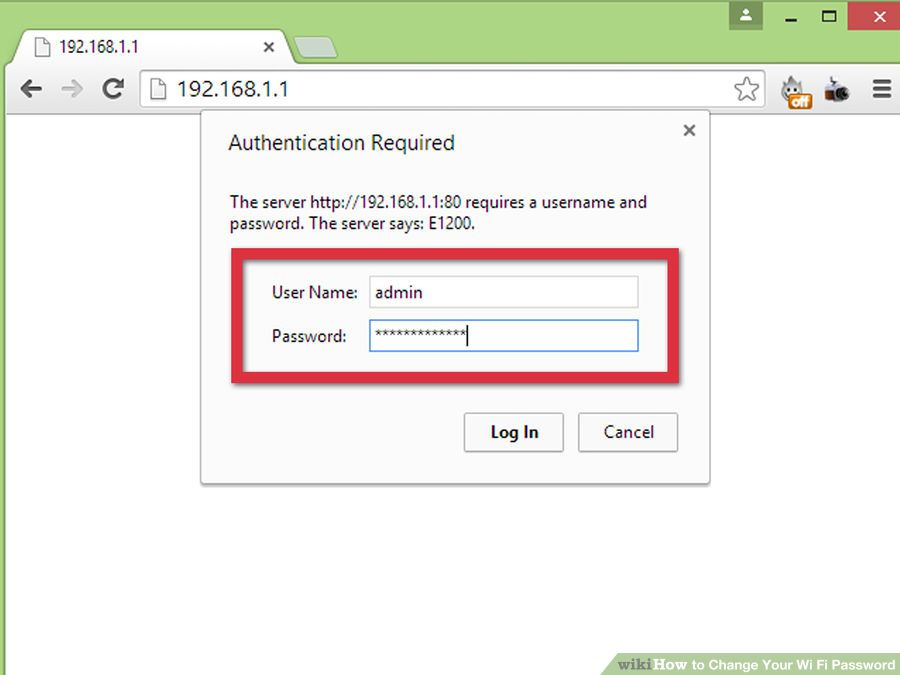 Как на роутере поменять пароль