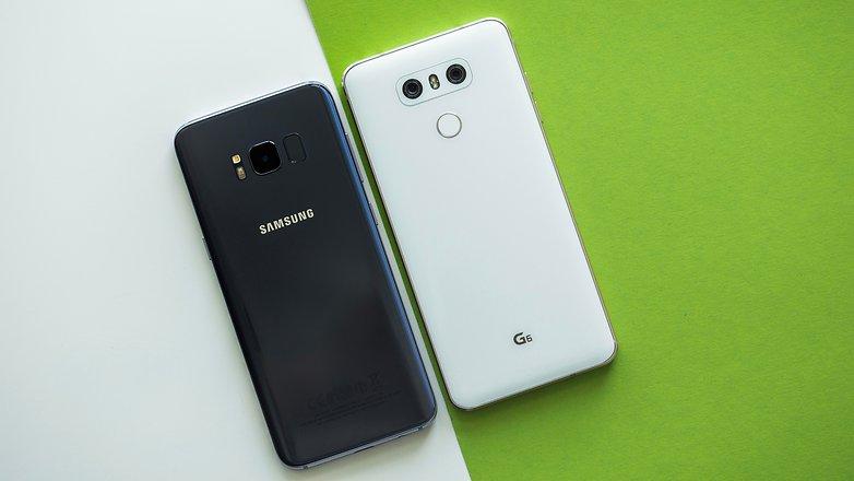 Samsung Galaxy S8 против LG G6: характеристики, цены, дизайн, камеры, внешний вид, производительность, тест-драйв, дисплей