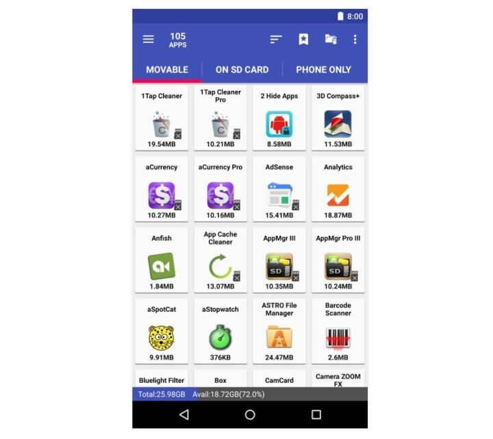 Как сделать что бы приложения устанавливались на карту памяти на Android