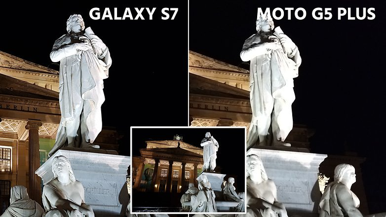 Сравнение камер Samsung Galaxy S7 и Moto G5 Plus