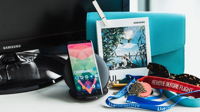 Samsung Galaxy S8 - Беспроводная зарядка: Как она изменит вашу повседневную жизнь и повысить удобство работы с телефоном