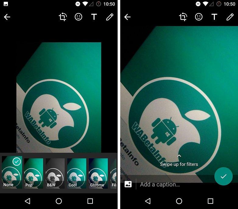 Обновление WhatsApp на Android: Фото-фильтры и многое другое прибыли в бета-версию